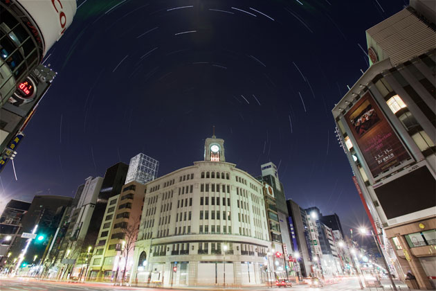 Ginza 4choume intersection