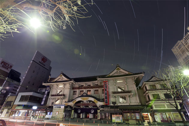 the Kabukiza Theater
