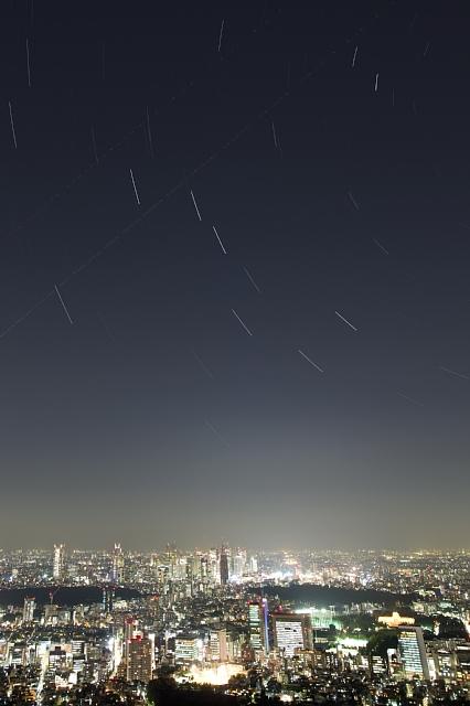 the big dipper over shinjuku